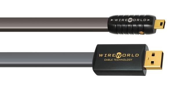 Wireworld Silver Starlight 7 USB A to Mini B