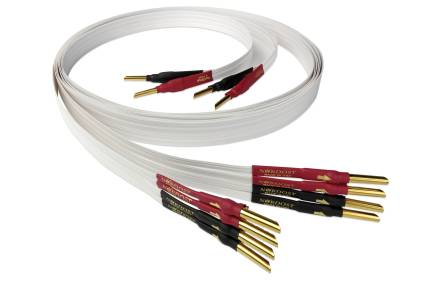 Nordost 4 Flat Speaker Cable 1.5 M Single Length - Un terminated