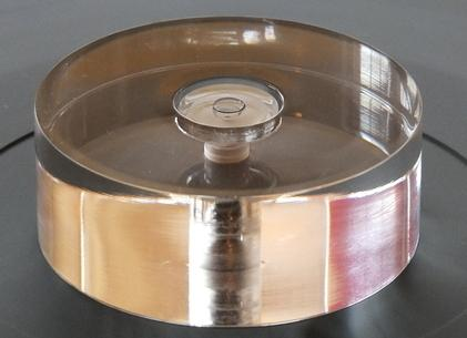 Analogue Studio Turntable Bubble Level With Spindle Hole