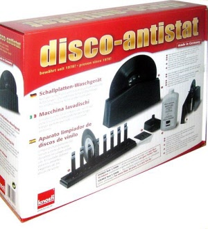 knosti disco anti static record cleaning machine
