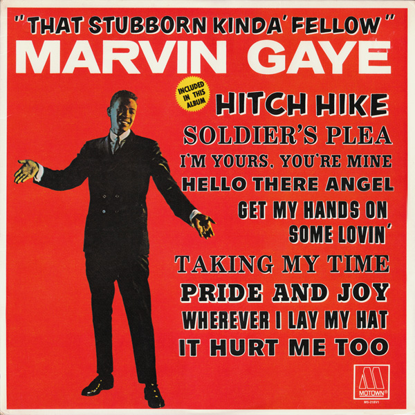 Marvin Gaye That Stubborn Kinda Fellow Vinyl Lp