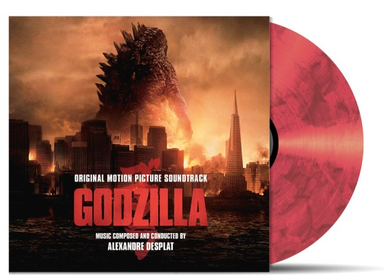 Godzilla Original Soundtrack 180g Double Vinyl Lp