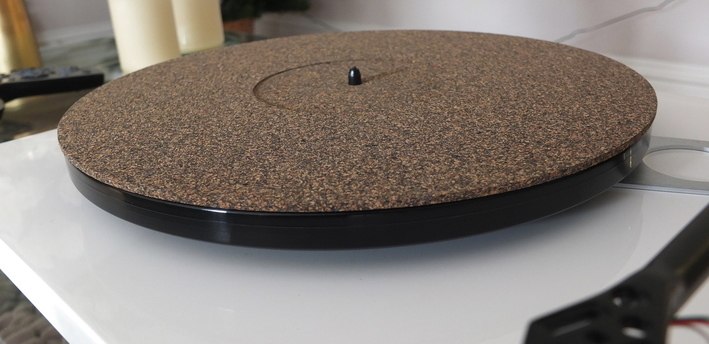 Analogue Studio Cork Rubber Turntable Platter Mat Fit Pro