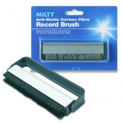 Milty Carbon Fibre Record Cleaning Brush