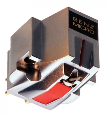 Benz Micro MC Silver Moving Coil Cartridge