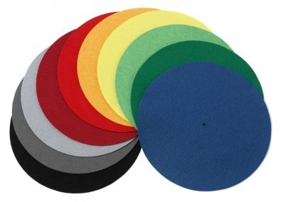 Pro-Ject Felt Turntable Platter Mat (Coloured)