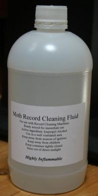 Moth Record Cleaning Fluid