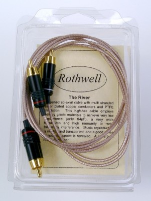 Rothwell Audio River Interconnects 1.0m Pair