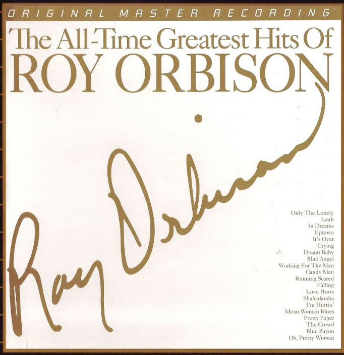 Roy Orbison All Time Greatest Hits 2x 180g Vinyl LP (MFSL2304)