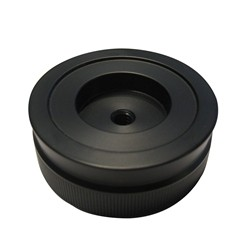 VPI Knurled 2'' Improved Black Clamping Knob