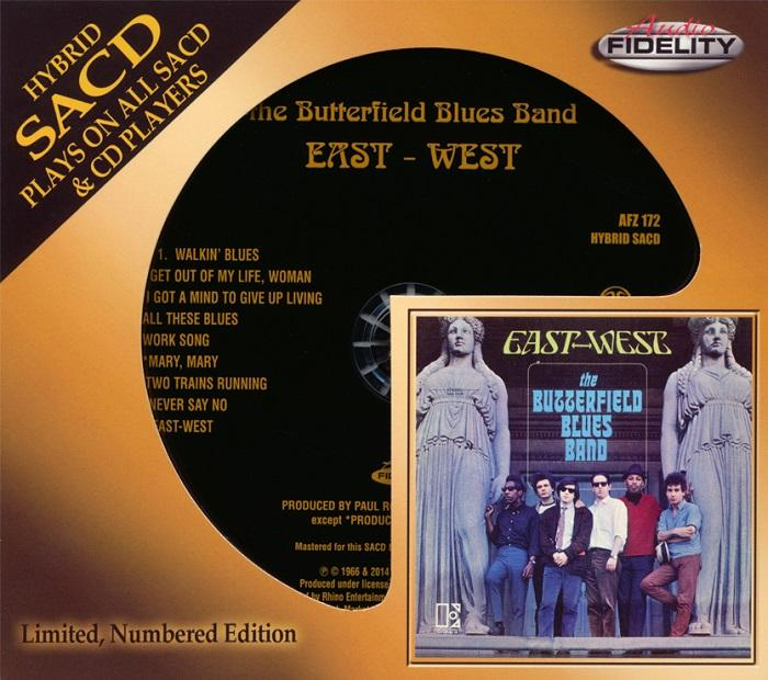 The Butterfield Blues Band - East-West Audio Fidelity SACD