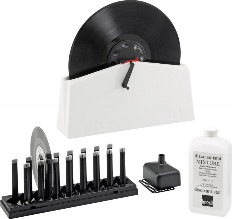 Knosti Disco Antistat MkII Record Cleaning Machine + Free Gift