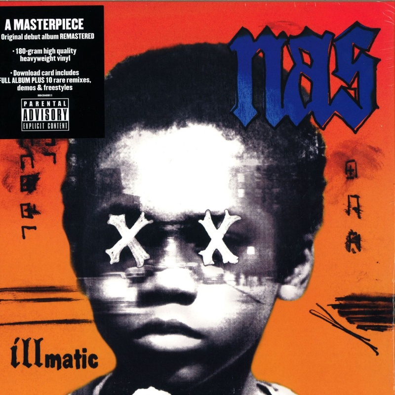Nas - Illmatic Vinyl LP