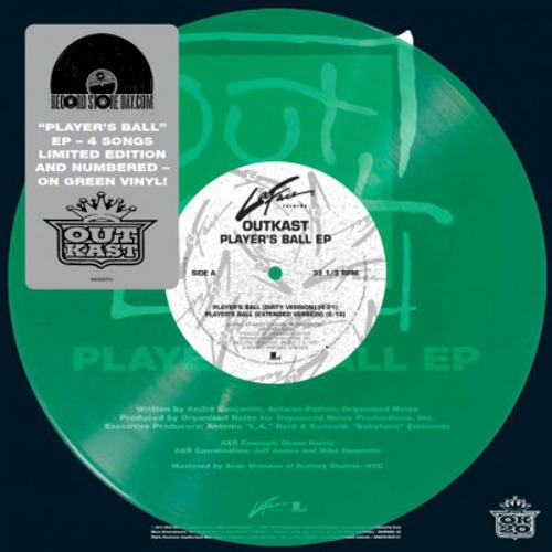 OutKast - Player's Ball 10' Green Vinyl EP (MOV10015)