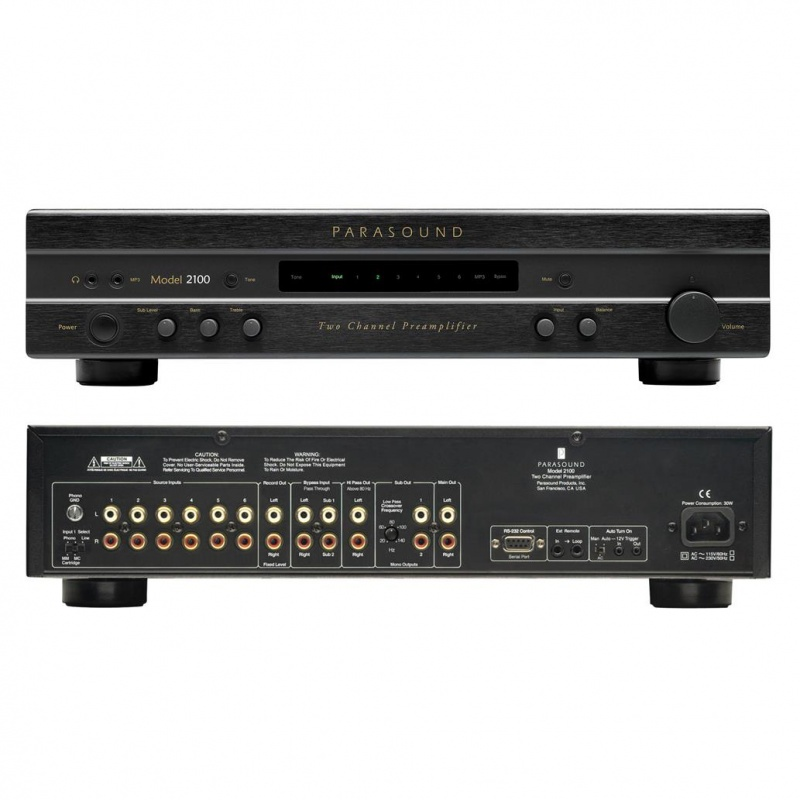Parasound New Classic 2100 Two Channel Pre-amplifier