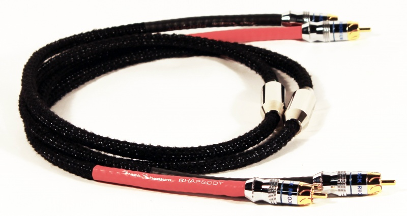 Black Rhodium Rhapsody Stereo Interconnects (Pair)