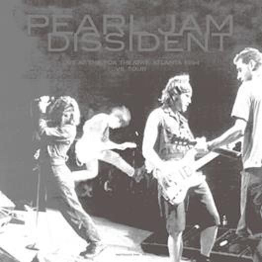 Pearl Jam - Dissident, Live at the Fox Theatre 1994 Music CD (BRR5002)