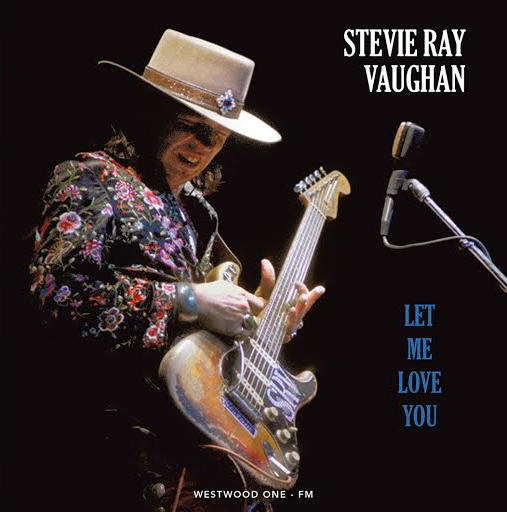 Stevie Ray Vaughn - Let Me Love You - Live in Alburquerque 1989 Music CD (BRR6015)