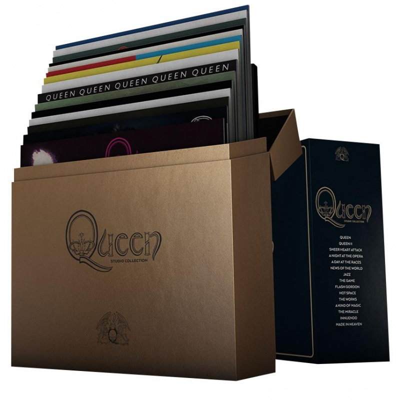 Queen - Complete Studio Album Vinyl LP Box Set