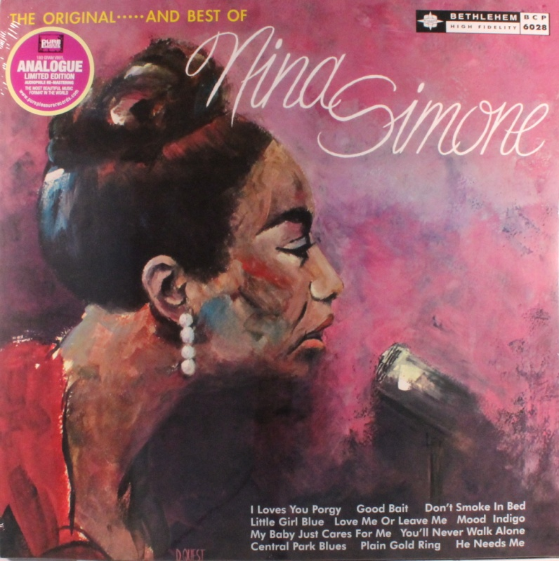 Nina Simone - Little Girl Blue (Stereo) Vinyl LP (BCP 6028 - Pure Pleasure)