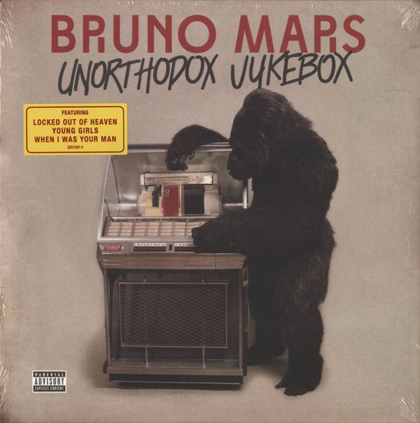 Bruno Mars - Unorthodox Jukebox Vinyl LP