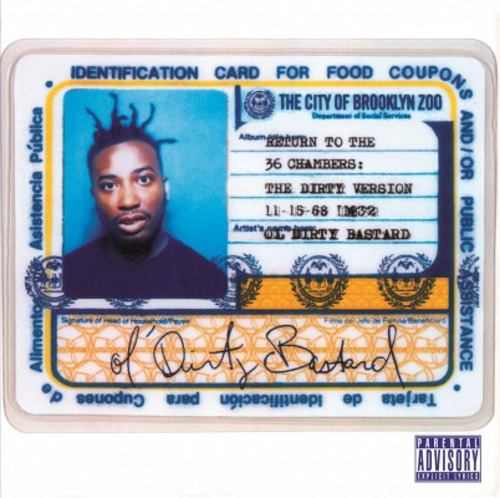 Ol' Dirty Bastard - Return to the 36 Chambers, Double 180g Vinyl LP