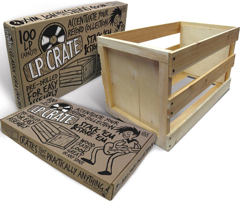 Crate Farm LP Storage Crate