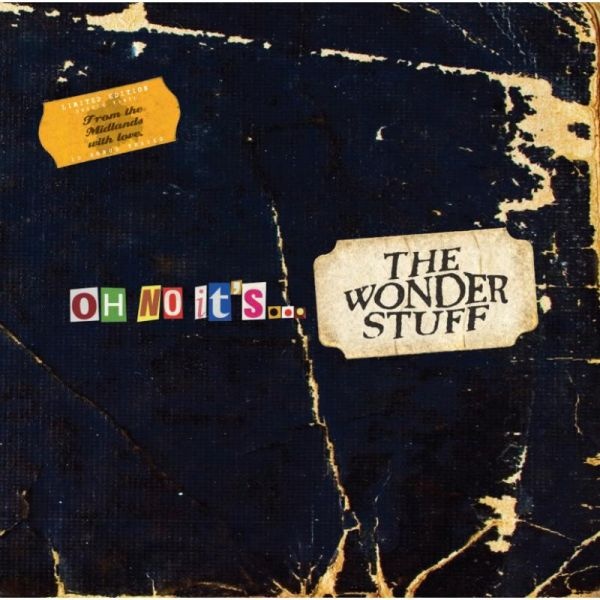 Oh No, It's The Wonder Stuff - 2 x 180g Vinyl LP Inc. Bonus CD