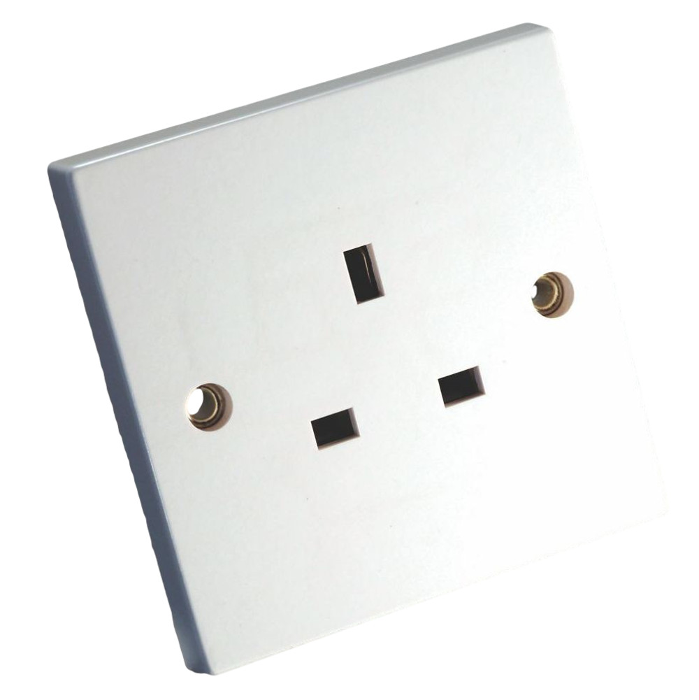 MS HD Power MS-9297 UK Single Wall Socket