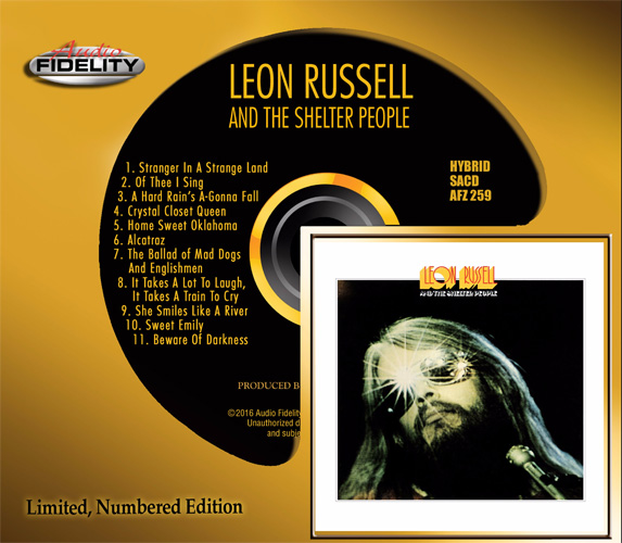 Leon Russell - Leon Russell & The Shelter People CD Ltd Numbered Edition SACDAFZ259