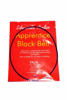 Edwards Audio Apprentice Black Belt (For Edwards Audio and Rega Turntables)