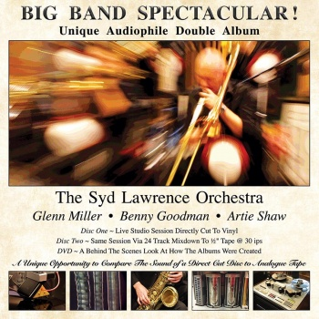 The Syd Lawrence Orchestra - Big Band Spectacular! 2x 180g Vinyl LP + DVD (VALDC002)