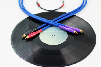 Tellurium Q Blue RCA-RCA Phono Turntable Interconnects