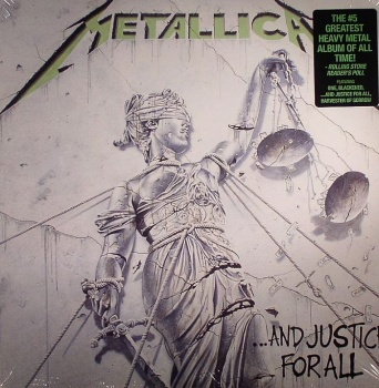 Metallica - ...And Justice For All Vinyl LP BKN007