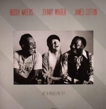 Muddy Waters, Johnny Winter, James Cotton Live at Tower Theatre Philadelpha March 6 1977 Vinyl LP DOR2071H