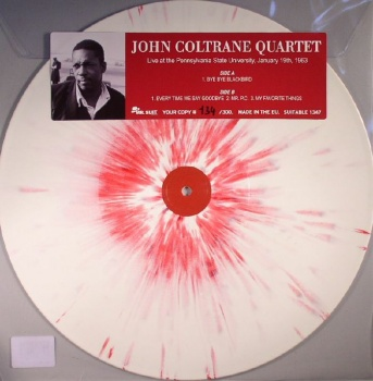 John Coltrane Quarter - Live At The Pennsylvania State Uni 1963 VINYL LP SUITABLE1347