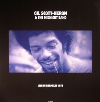 Gil Scott-Heron & The Midnight Band Live in Berkeley 1978 Vinyl LP DOR2075H