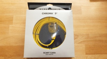 WireWorld Chroma 5 SCART Analogue Video Cable 3.0m