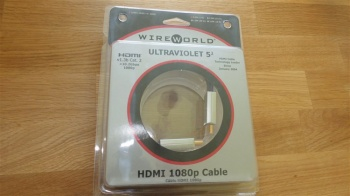 WireWorld Ultraviolet 5.2 HDMI Cable 0.3m