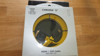 WireWorld Chroma 5.2 HDMI to DVI Cable 5.0m