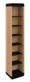 Schnepel ELF-A120 Open Large AV CD Storage Cabinet