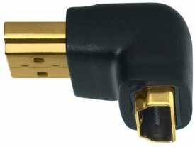 WireWorld HDMI Male to Female Right Angled Adapter