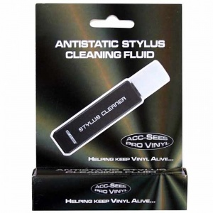 Acc-Sees Antistatic Stylus Cleaner + Brush