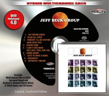 Jeff Beck Group (The Orange Album) Hybrid SACD (AFZ5219)