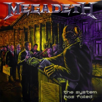 Megadeth - The System Has Failed Vinyl LP MOVLP684