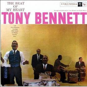 Tony Bennett - The Beat Of My Heart Vinyl LP Columbia CL1079