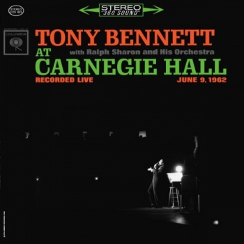 Tony Bennett At Carnegie Hall Recorded Live June 9 1962