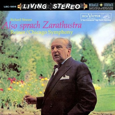 Richard Strauss, Chicago Symphony, Fritz Reiner - Also Sprach Zarathustra - 200g Vinyl LP