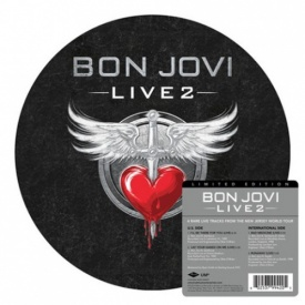 Bon Jovi - Live 2 - Limited Edition 10'' EP Picture Disc