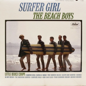 The Beach Boys - Surfer Girl MONO Vinyl LP (APP 060M)